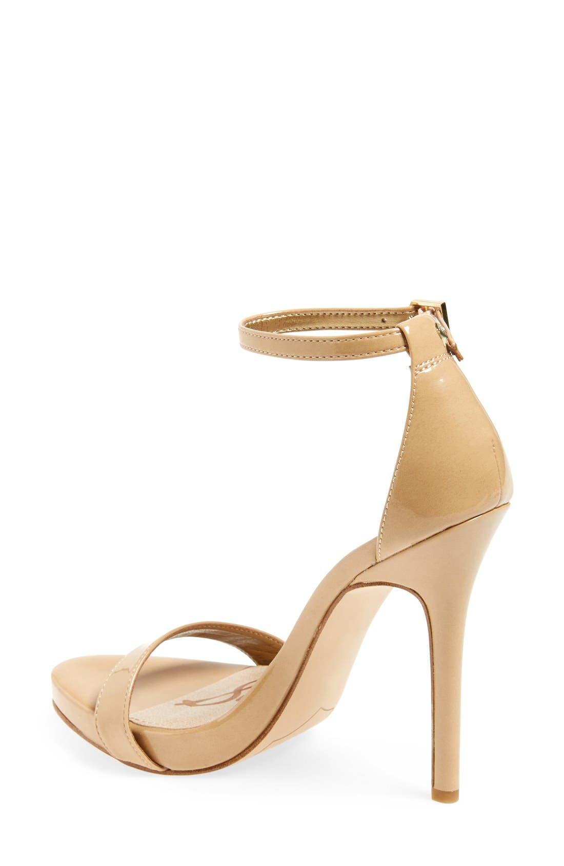 ,                             'Eleanor' Ankle Strap Sandal,                             Alternate thumbnail 105, color,                             252