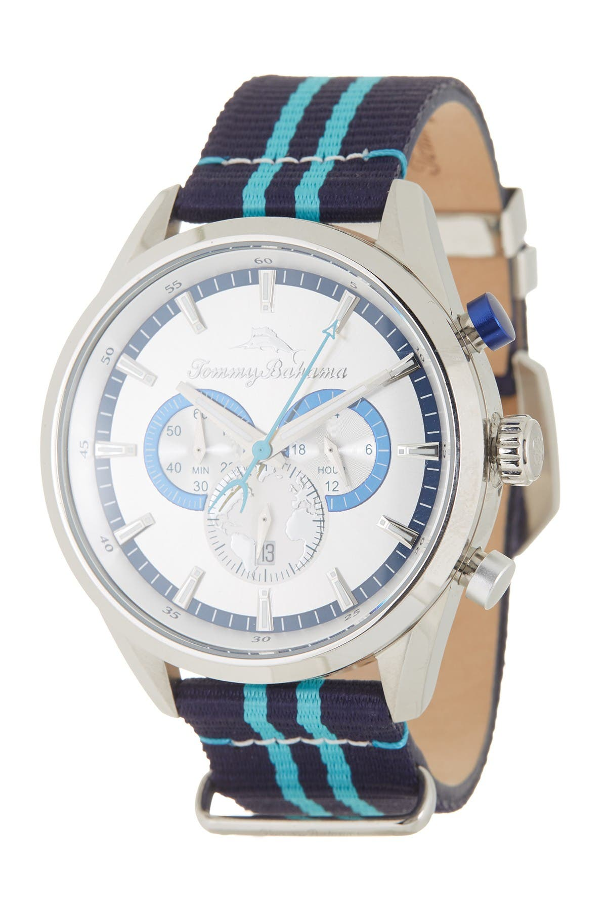 Image of Tommy Bahama Men's South Bay Chronograph Watch, 46mm