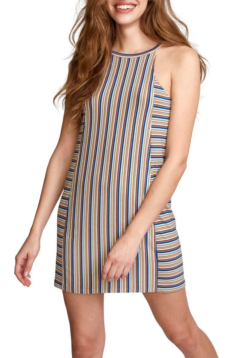 RVCA Bailey Stripe Minidress, Main, color, 250