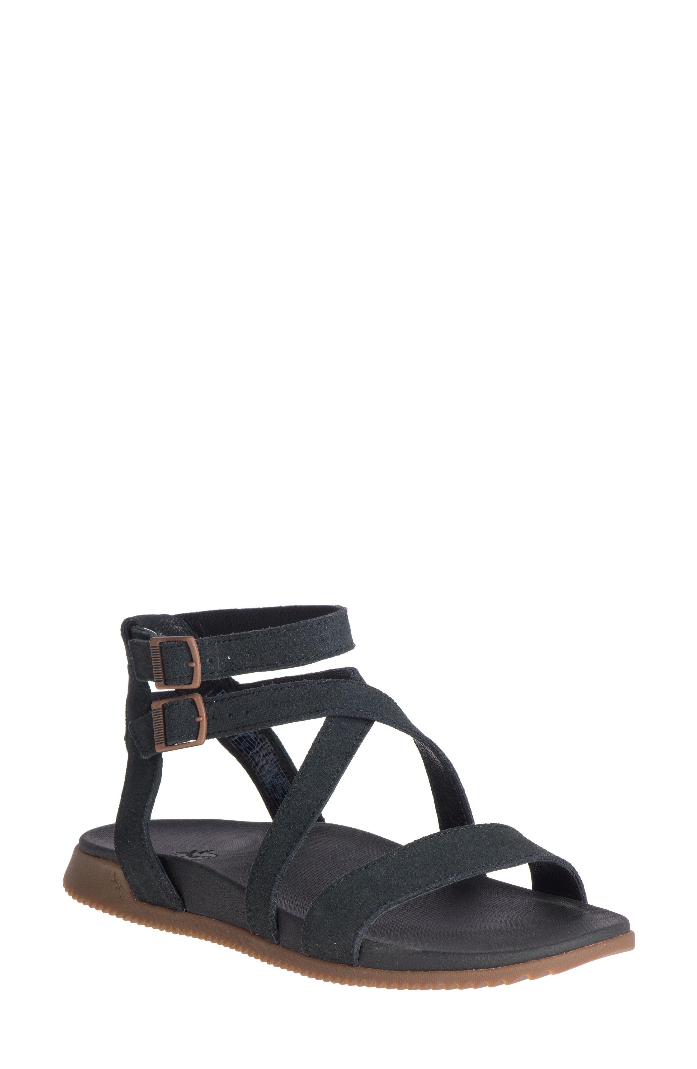 Rose Ankle Strap Sandal
