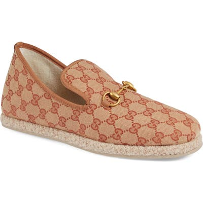 Gucci Gg Supreme LoaferUS / 8.5UK - Beige