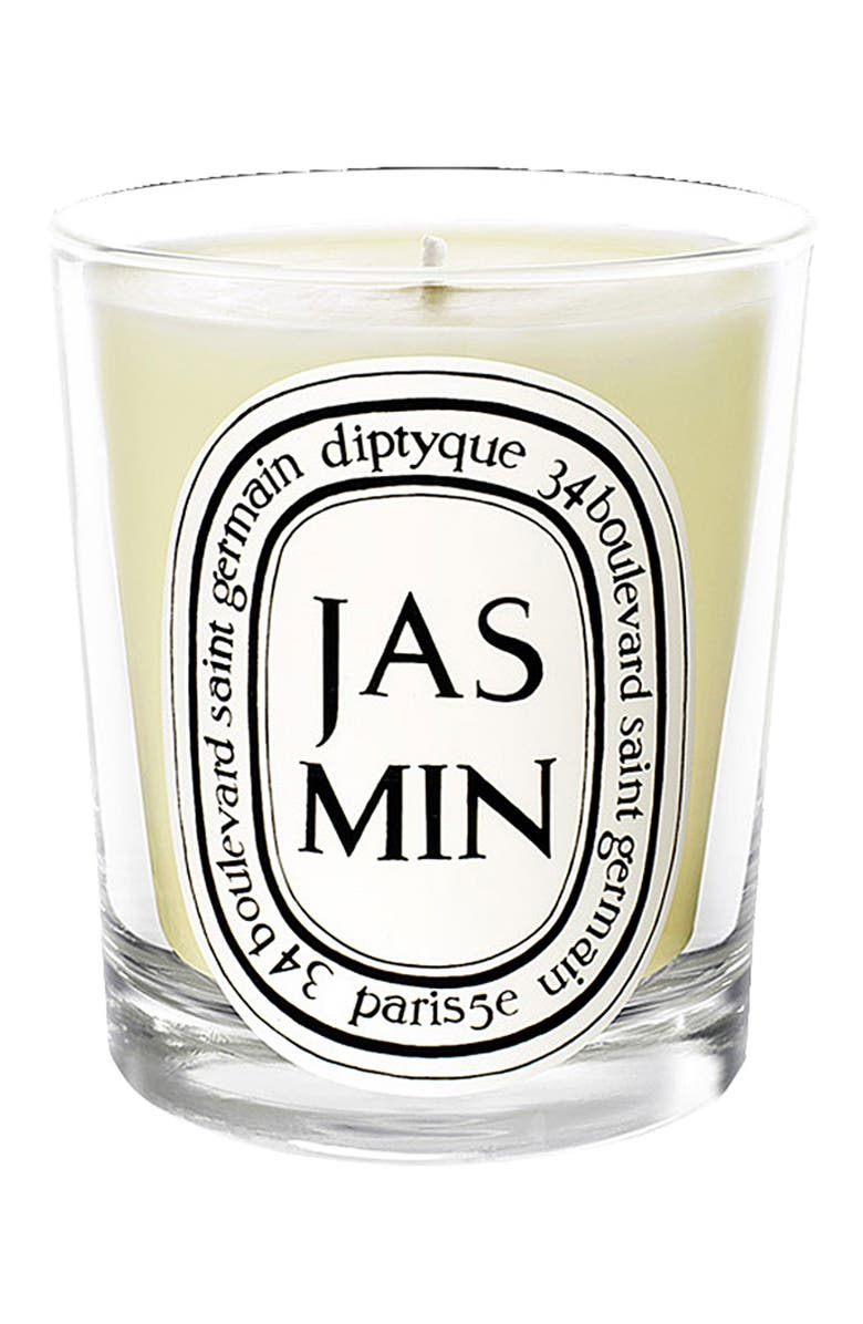 DIPTYQUE Jasmin Mini Scented Candle, Main, color, 000