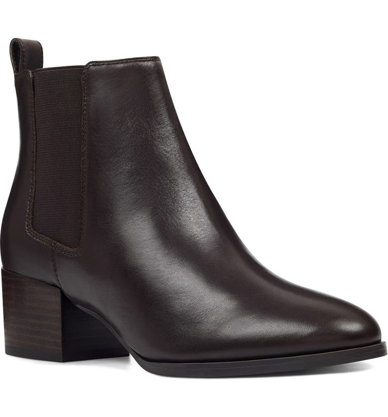 NINE WEST Colt Chelsea Boot, Main, color, COFFEE BEAN LEATHER