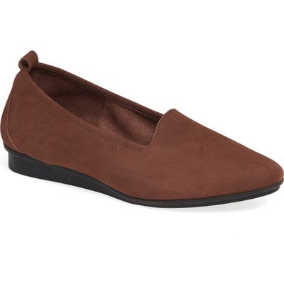 Arche Ninolo Water Resistant Flat, Brown