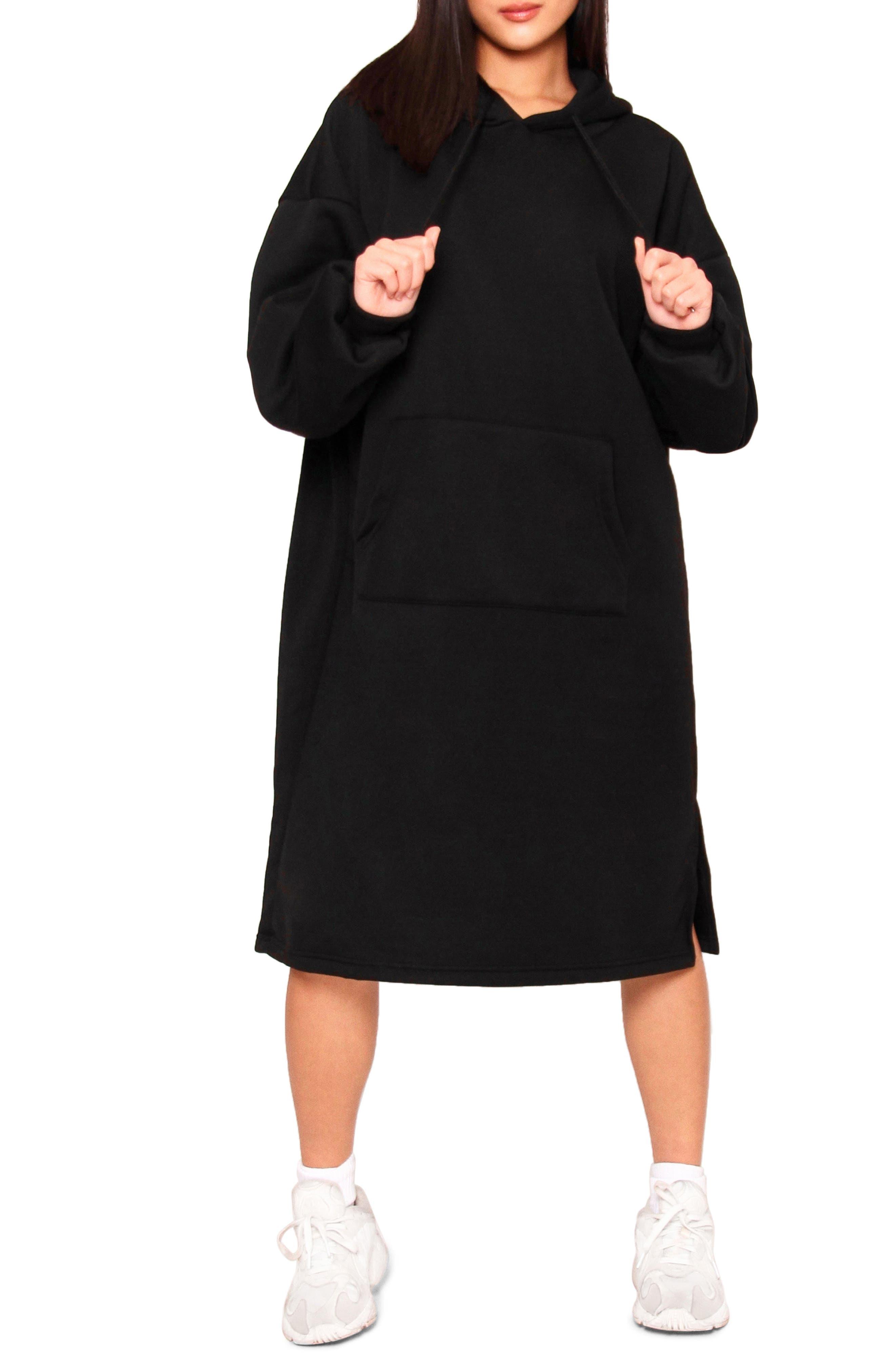 Kuben Hoodie Midi Dress