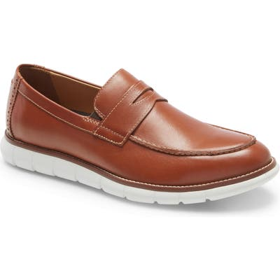 Johnston & Murphy Holden Penny Loafer, Brown
