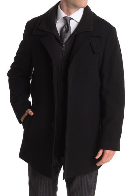 Image of Calvin Klein Coleman Wool Blend Coat