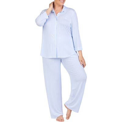 Plus Size Lauren Ralph Lauren Pajamas, Blue