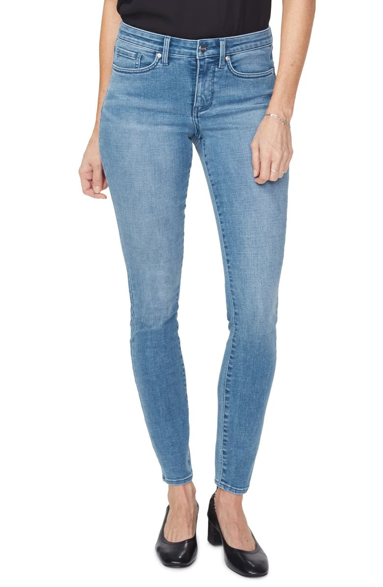 NYDJ Ami Ankle Skinny Jeans, Main, color, BRICKELL
