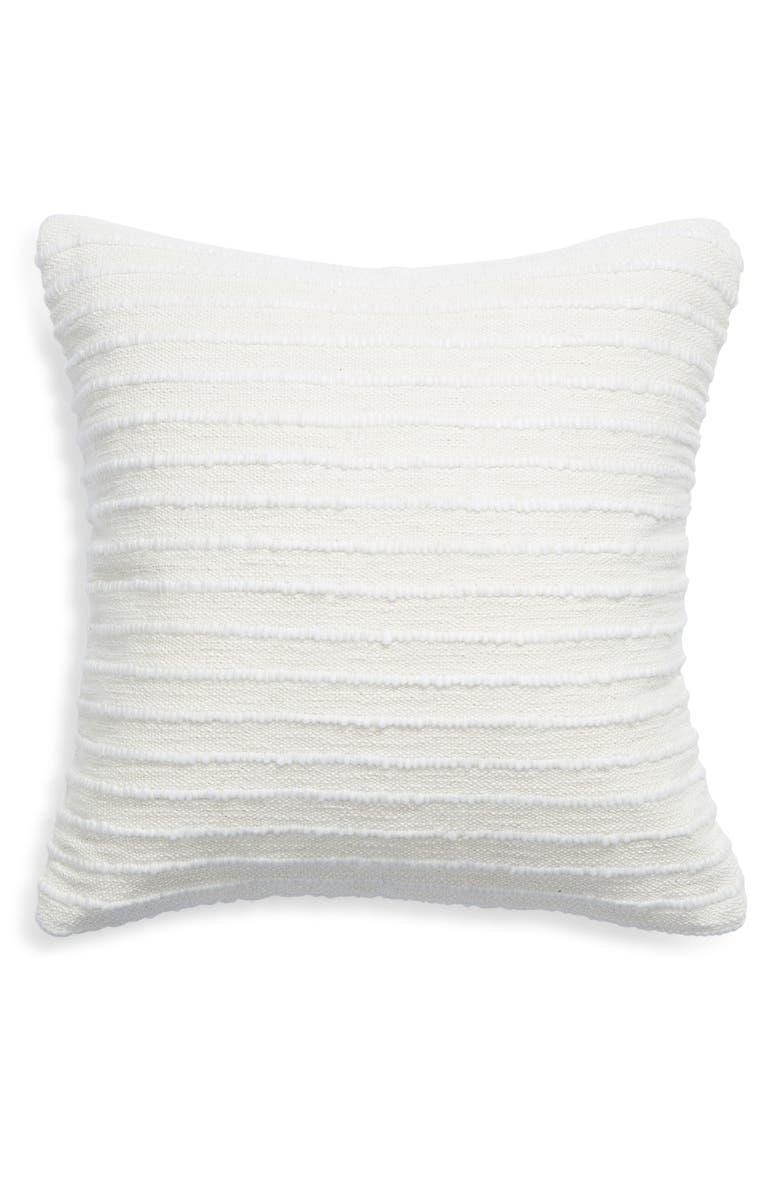 TREASURE & BOND Texture Stripe Accent Pillow, Main, color, BEIGE NATURAL