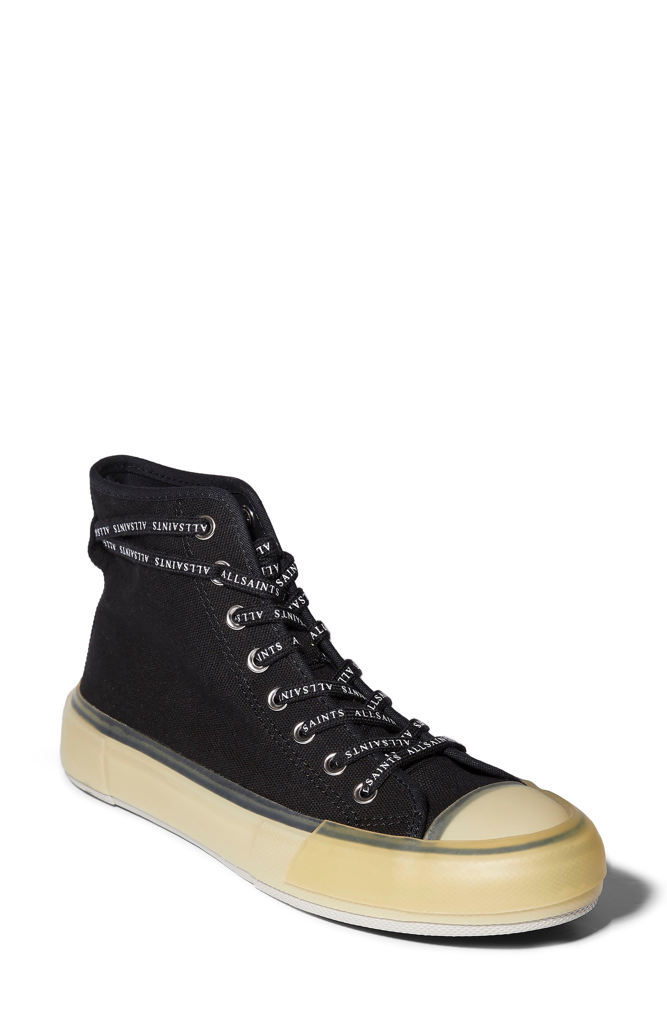 Jaxal Canvas High Top Sneaker