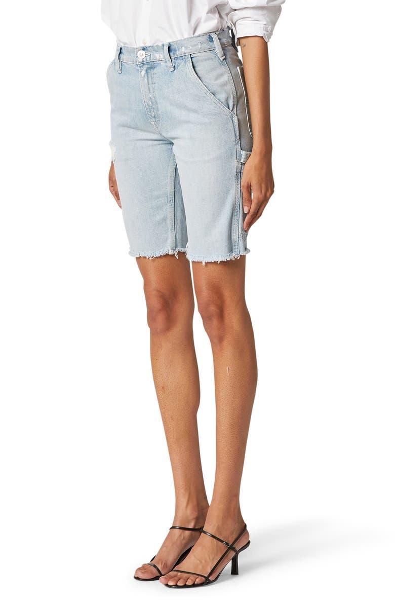 HUDSON JEANS Carpenter Denim Bermuda Shorts, Main, color, NIGHT FEVER