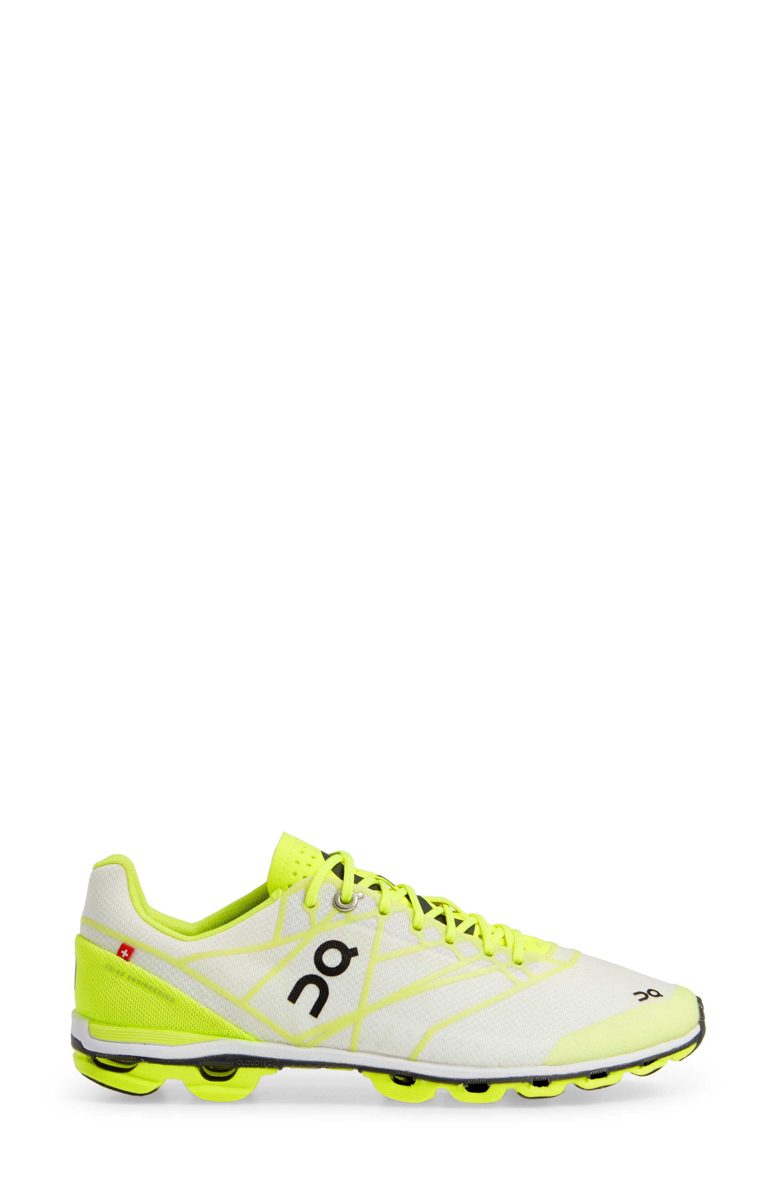 ,                             Cloudflash Racing Shoe,                             Alternate thumbnail 3, color,                             NEON/ WHITE