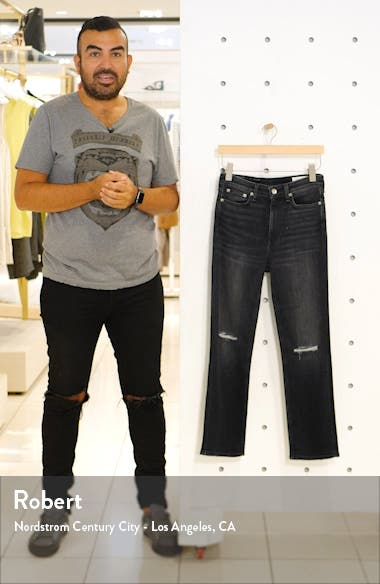 Nina High Waist Ankle Cigarette Jeans, sales video thumbnail