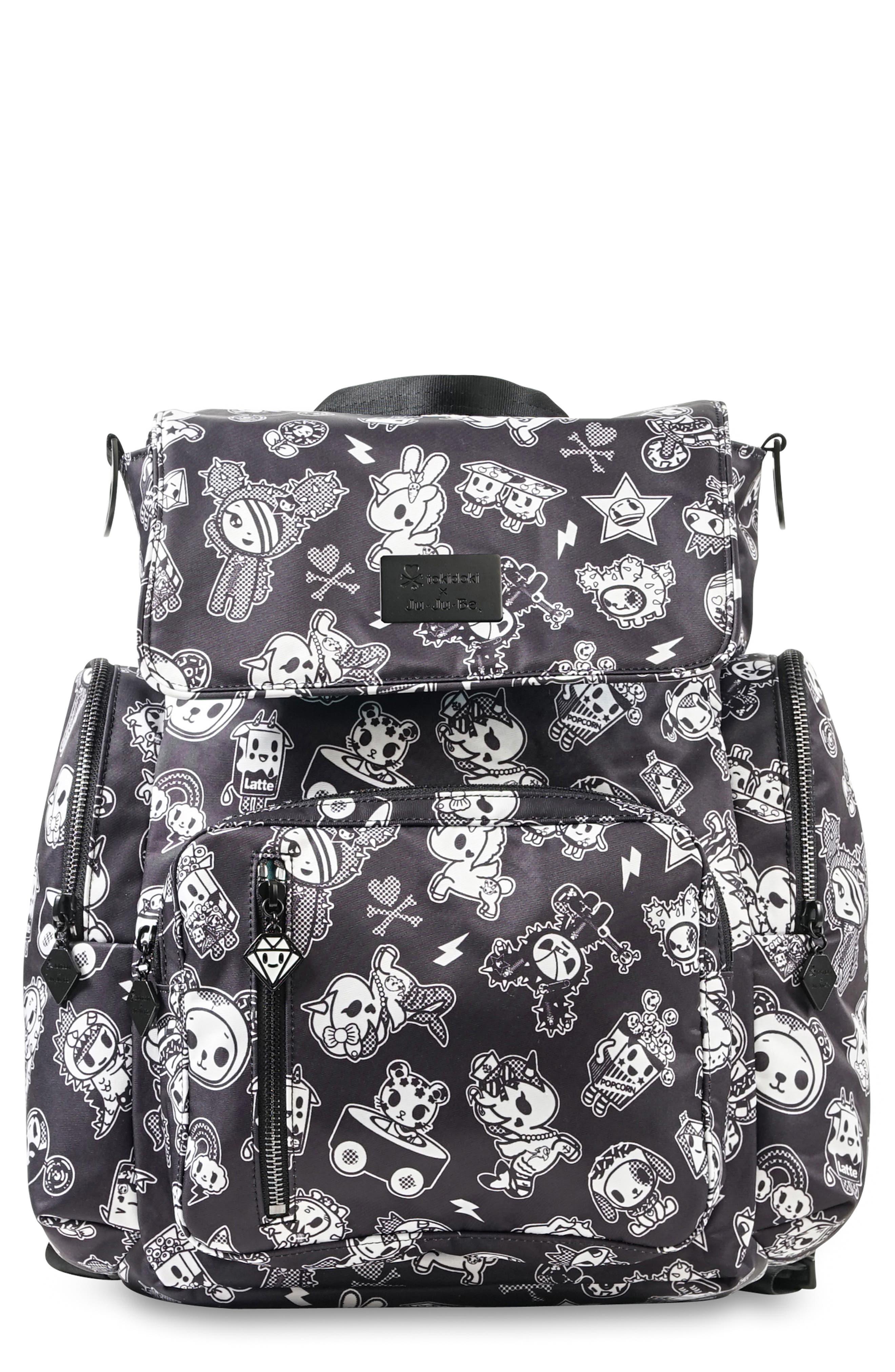 Infant JuJuBe X Tokidoki Be Sporty Diaper Backpack  Black