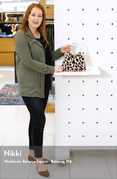 Loray Faux Fur Top Handle Bag, sales video thumbnail