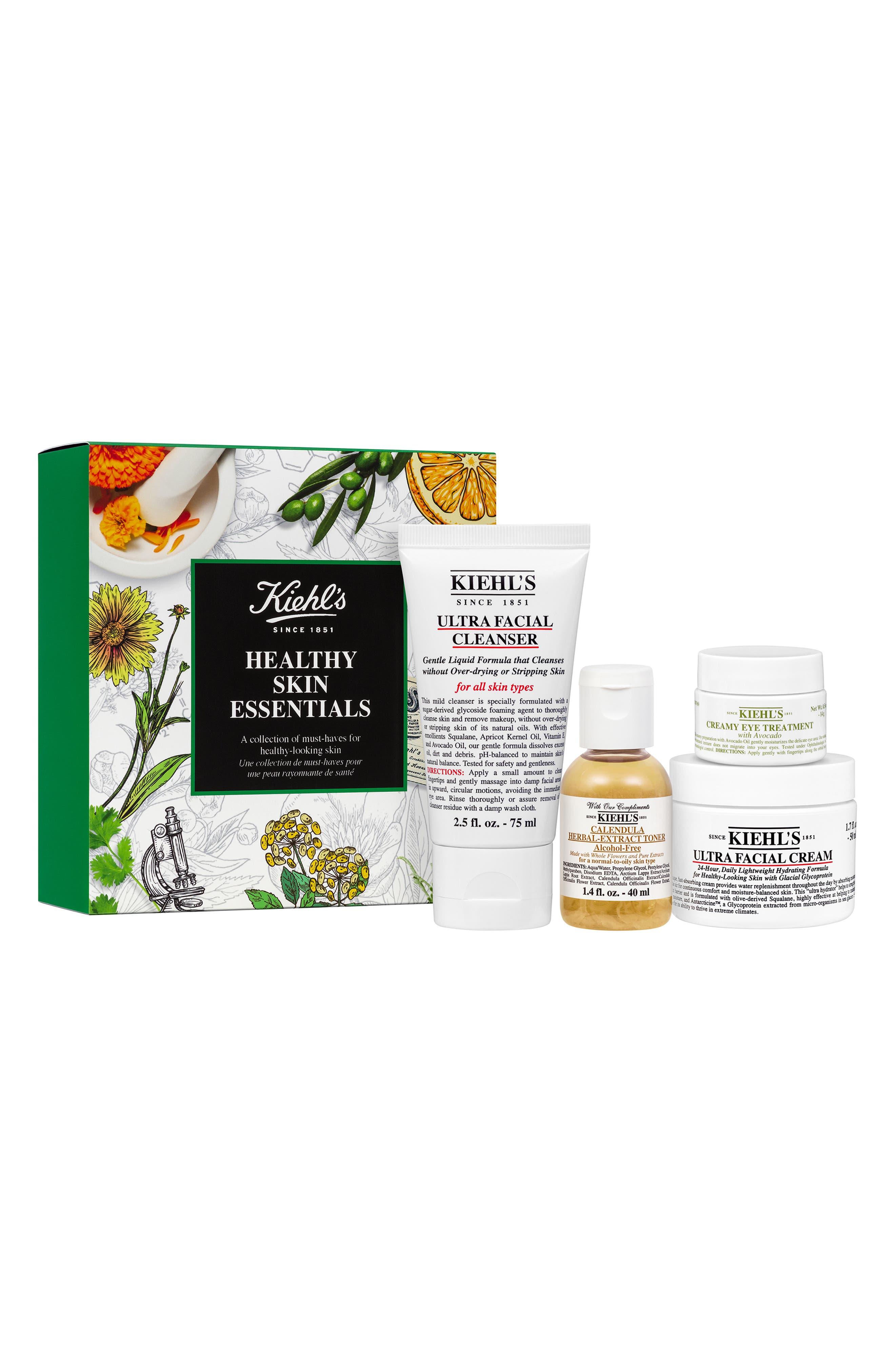 Healthy Skin Essentials Set, Main, color, NO COLOR