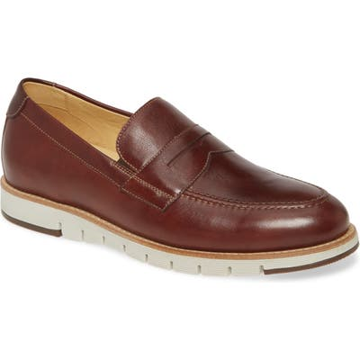 Johnston & Murphy Martell Penny Loafer- Brown