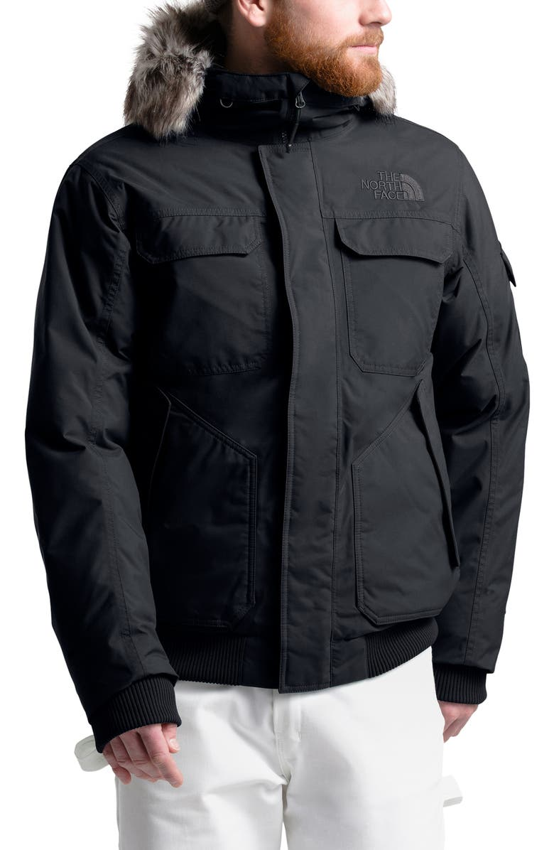 THE NORTH FACE Gotham III Waterproof Down Jacket, Main, color, TNF BLACK/ BLACK
