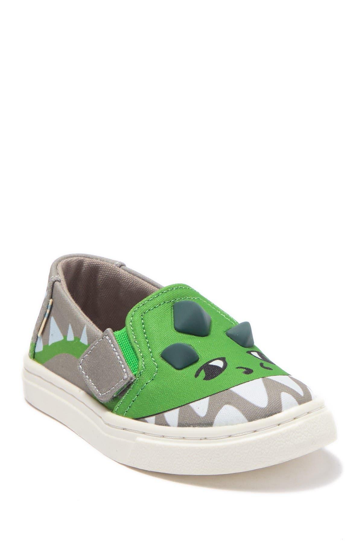 TOMS   Luca Dinosaur Slip-On Flat