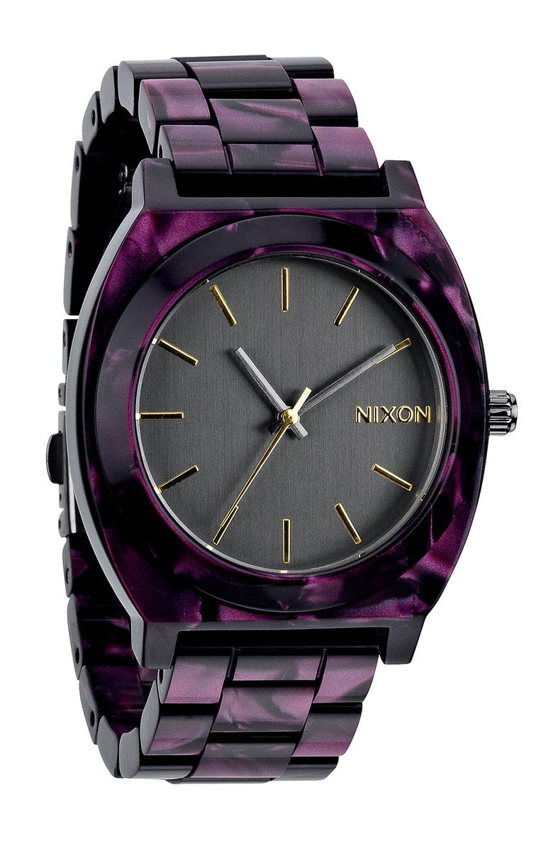 NIXON 'The Time Teller' Watch, 37mm, Main, color, 021