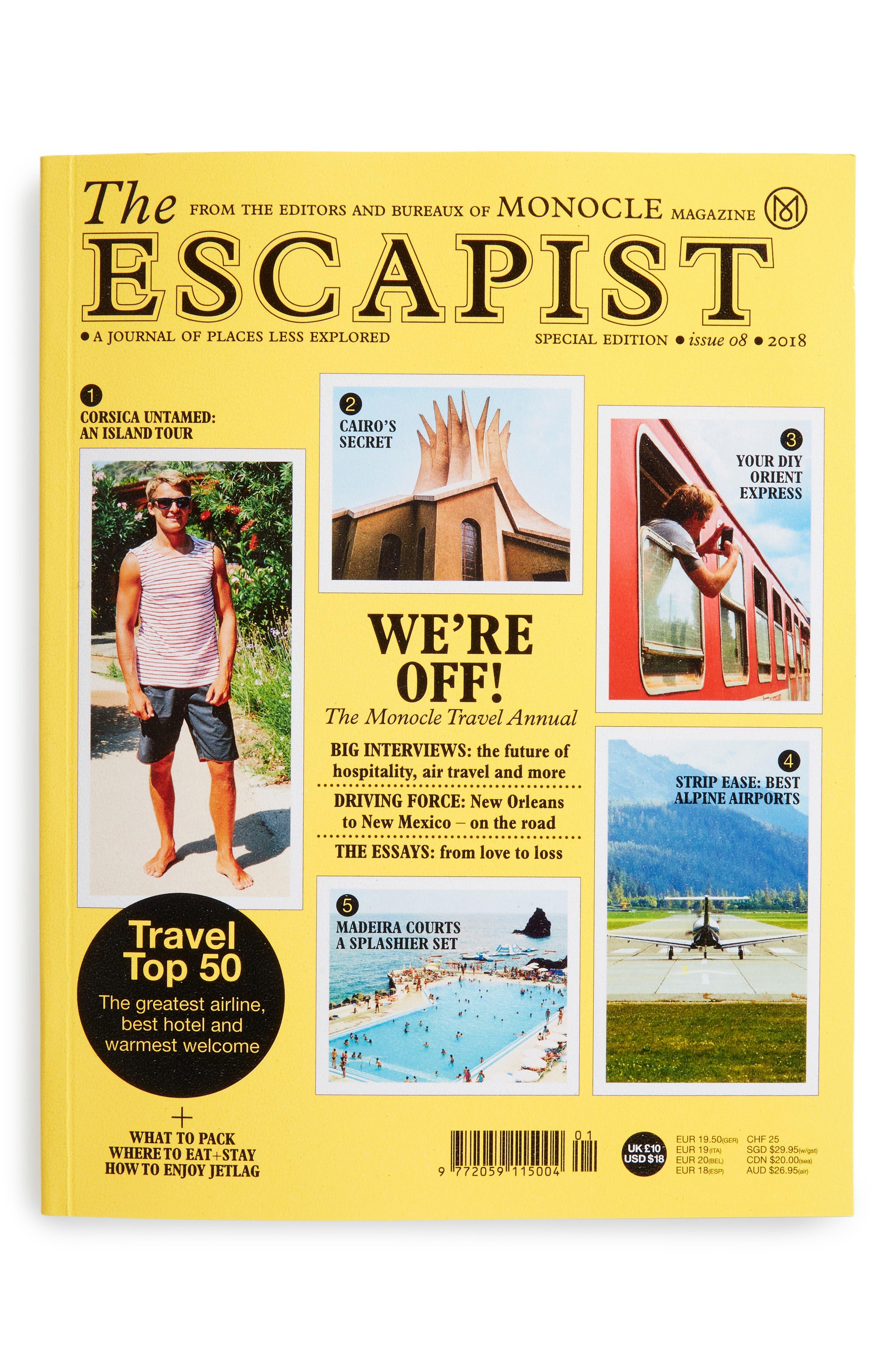 The Escapist 2018 Magazine, Main, color, YELLOW