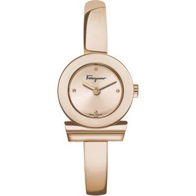 Salvatore Ferragamo Gancino Bracelet Watch, 22.5Mm