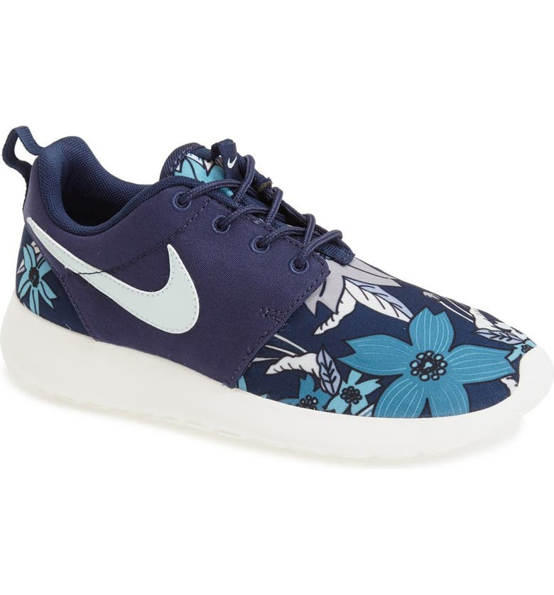 NIKE 'Roshe Run' Print Sneaker, Main, color, 431