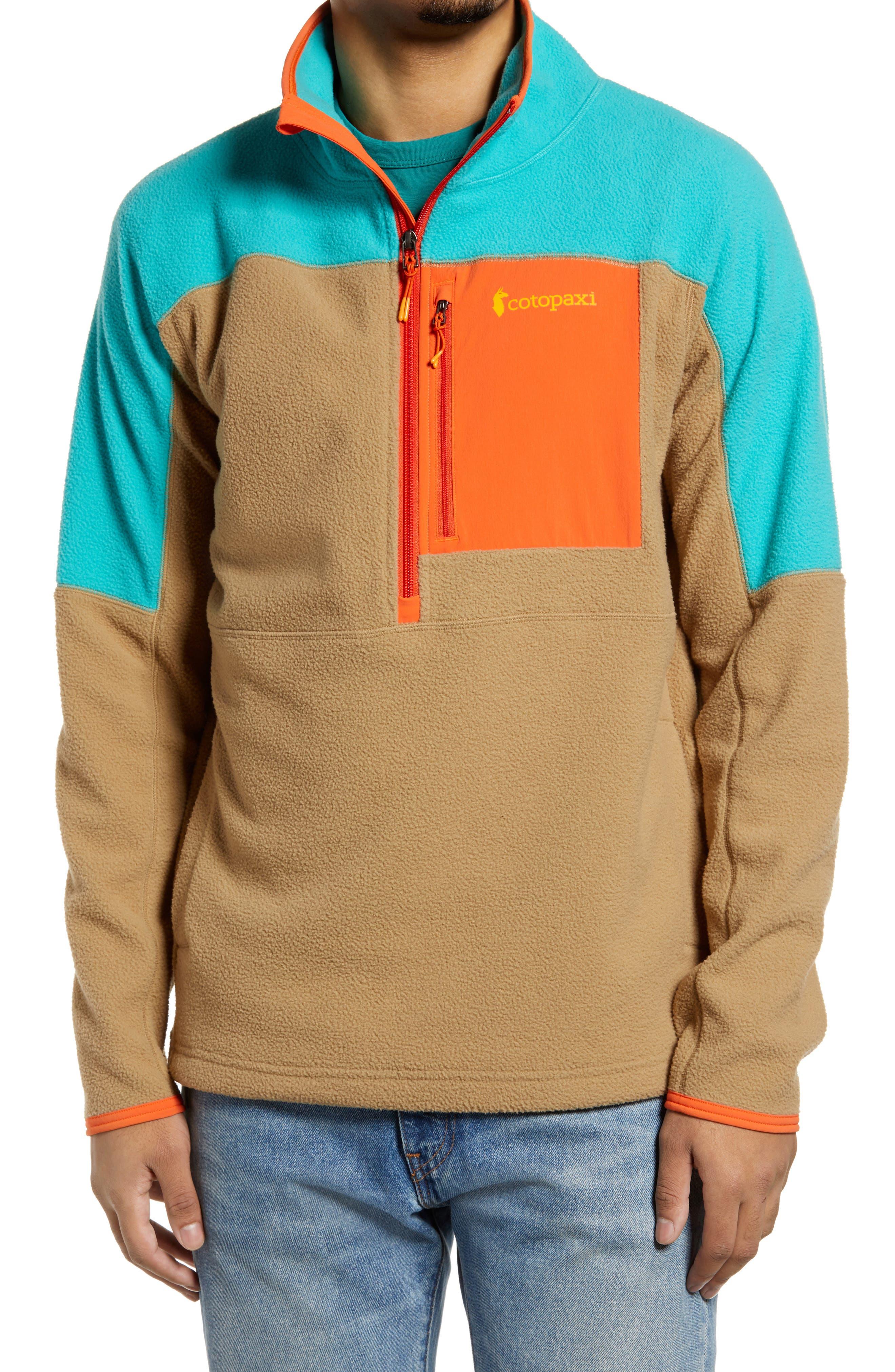 Dorado Colorblock Half Zip Fleece Pullover