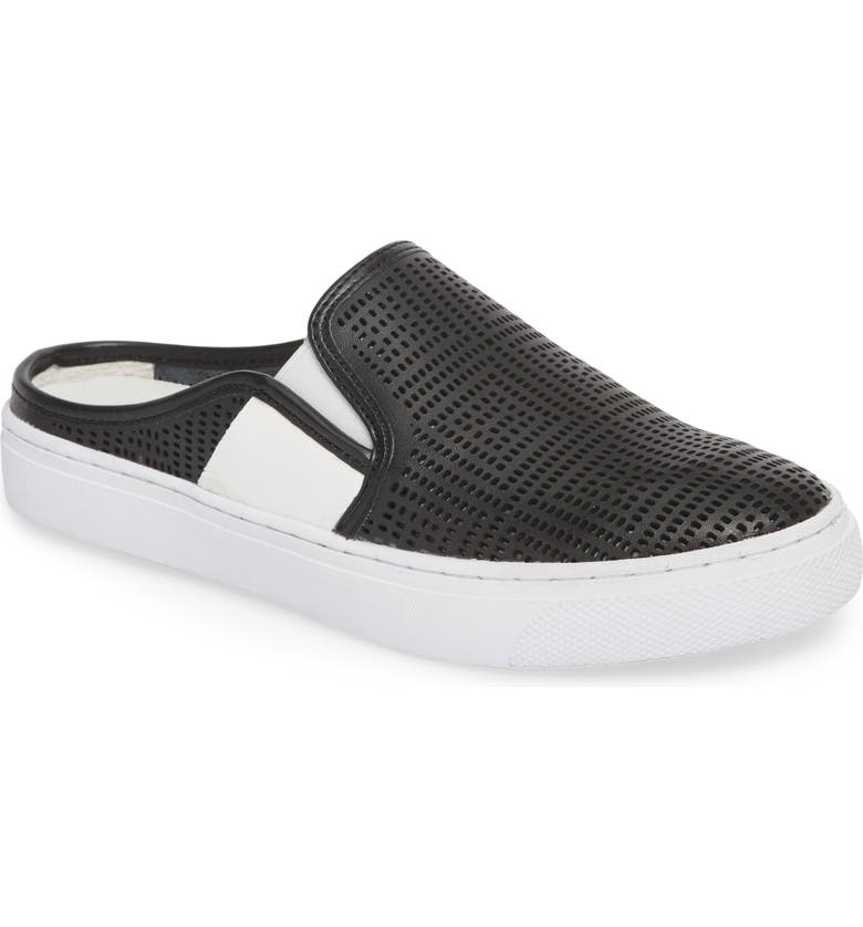 BERNIE MEV. Perforated Backless Sneaker, Main, color, 001