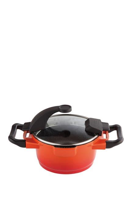 Image of BergHOFF Covered Saucepan - Orange