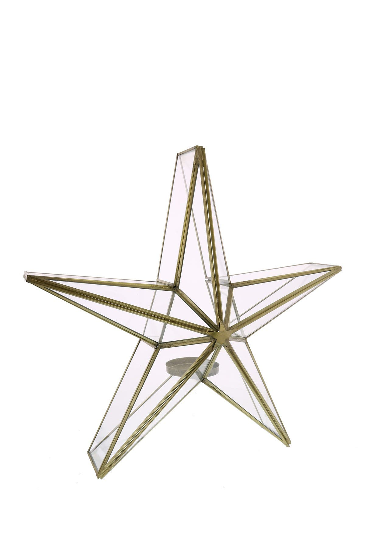 Image of HOMART Glass Star Candle Holder - Large