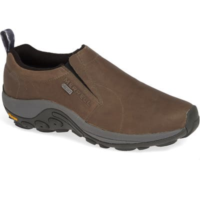 Merrell Jungle Moc Waterproof Ice+ Sneaker- Brown