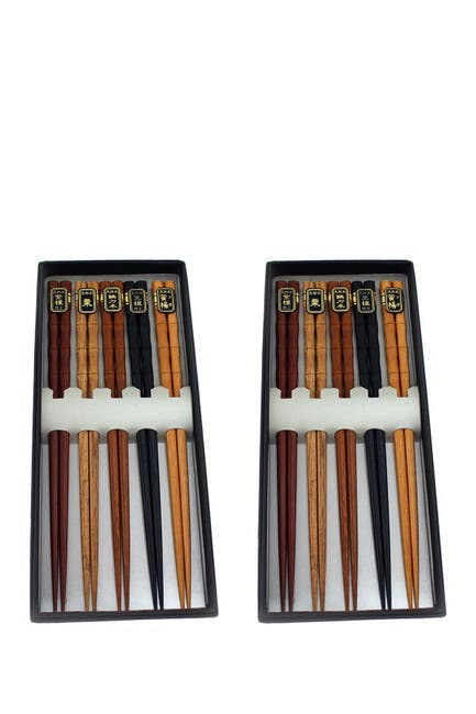 Image of BergHOFF Natural Wooden Chopsticks - Set of 10