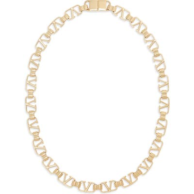 Valentino Vlogo Link Necklace