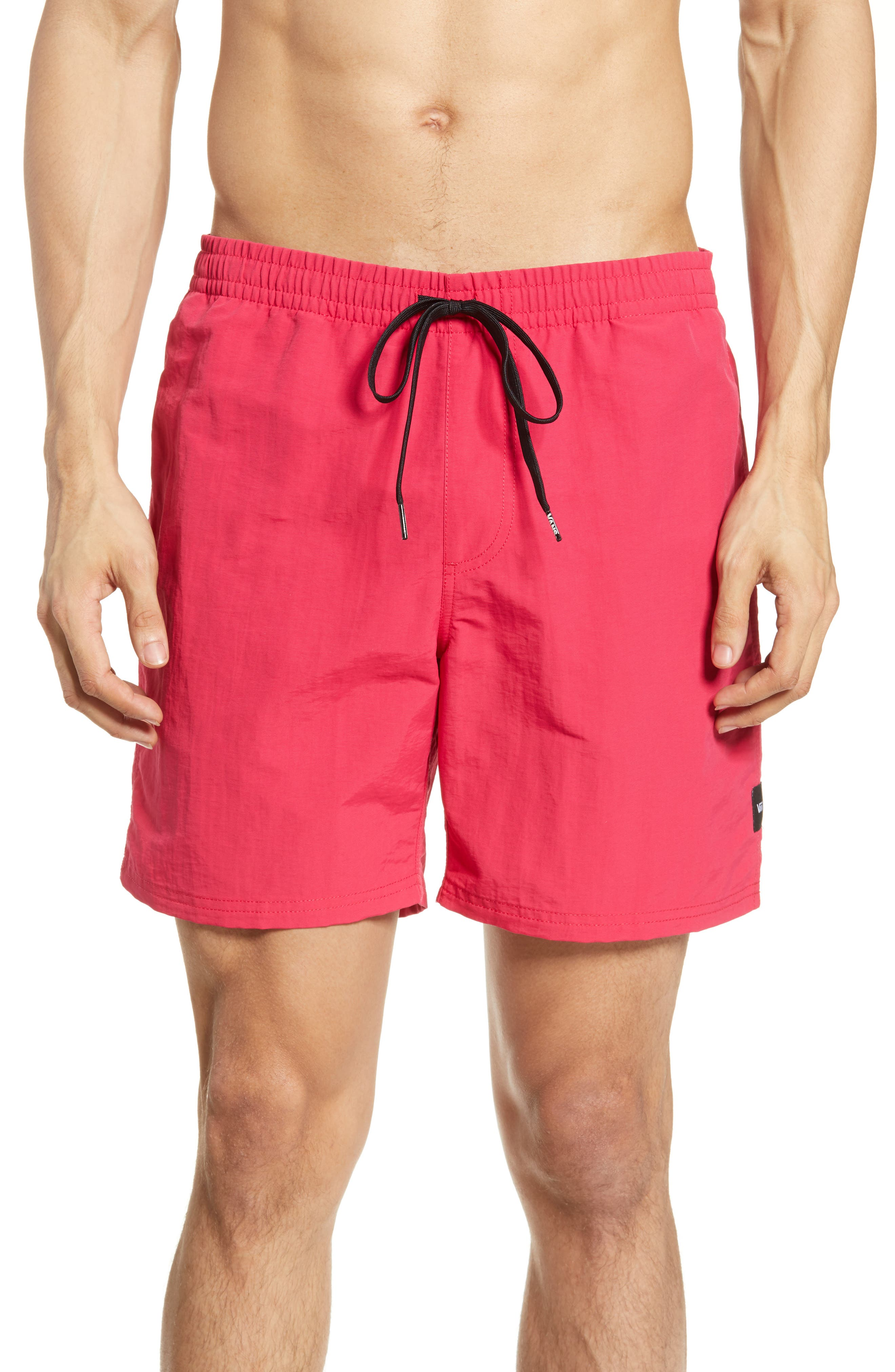 Vans Primary Volley Shorts, Red