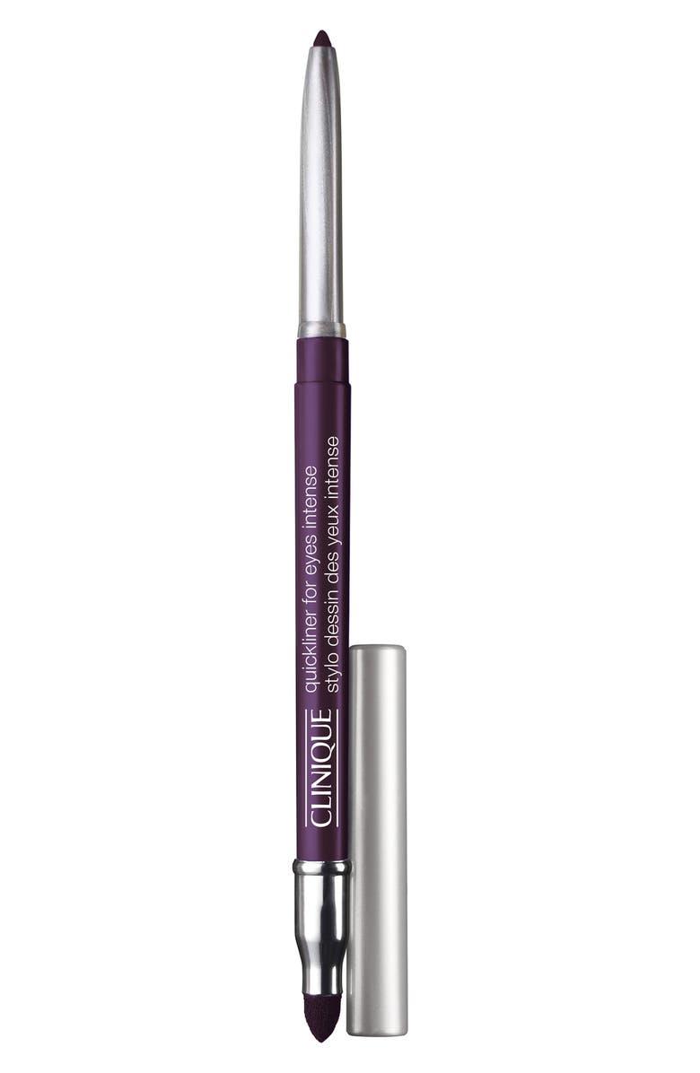 CLINIQUE Quickliner for Eyes Intense Eyeliner Pencil, Main, color, INTENSE AUBERGINE