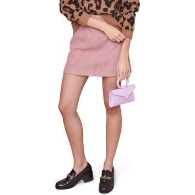 Astr The Label Uma Miniskirt, Pink