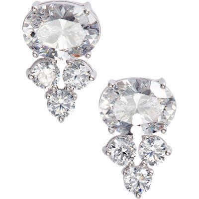 Nadri Everlasting Cluster Stud Earrings