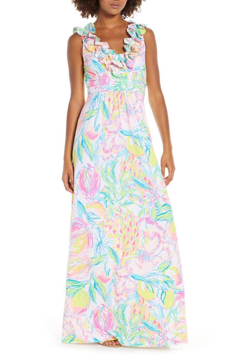 Leena Ruffle Maxi Dress by Lilly Pulitzer®