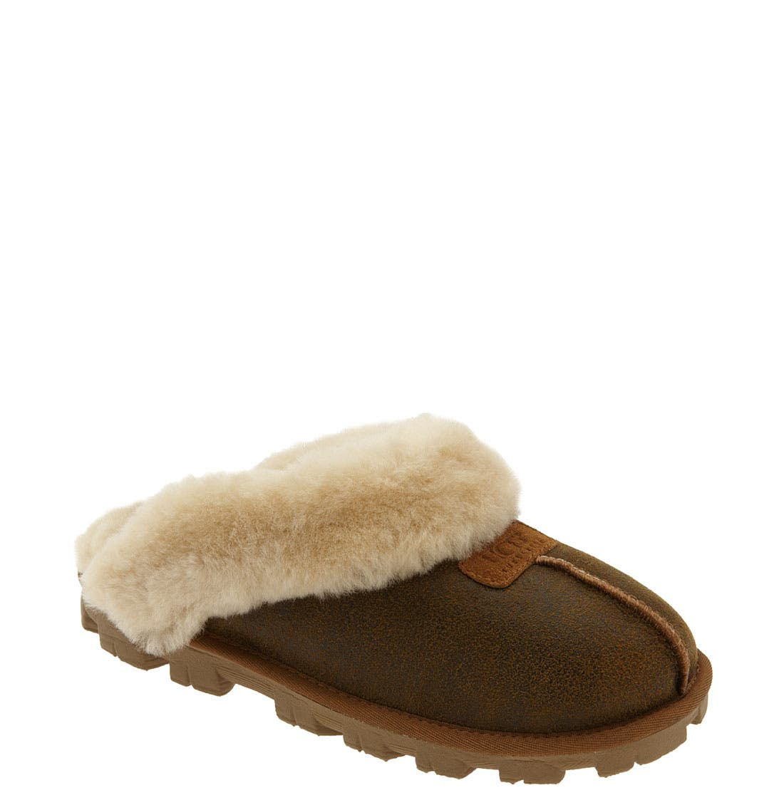 ,                             Genuine Shearling Slipper,                             Main thumbnail 116, color,                             215