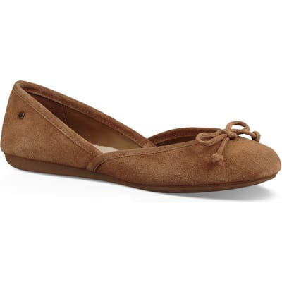 Ugg Lena Flat, Brown