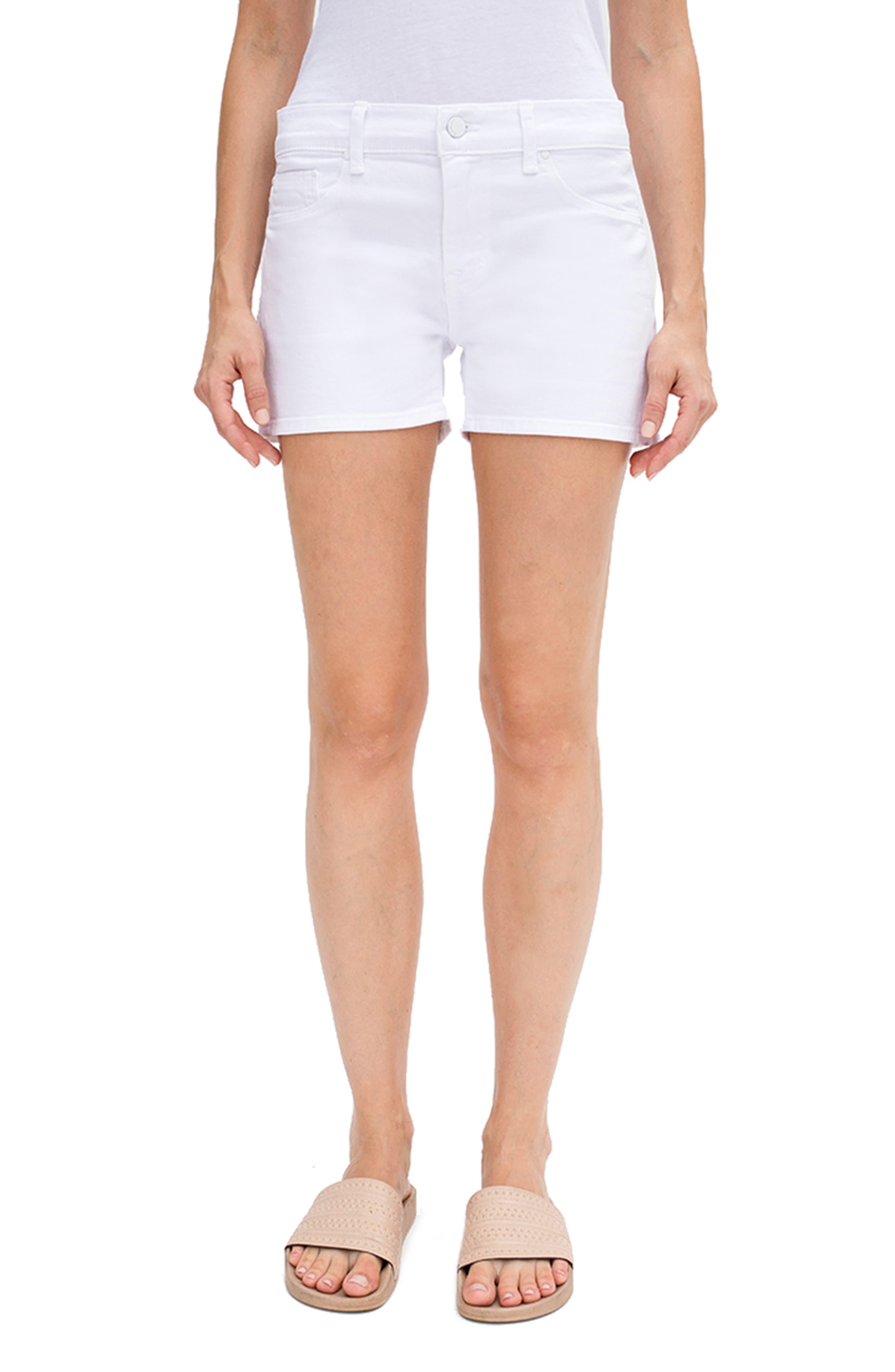 Malibu High Waist Denim Shorts