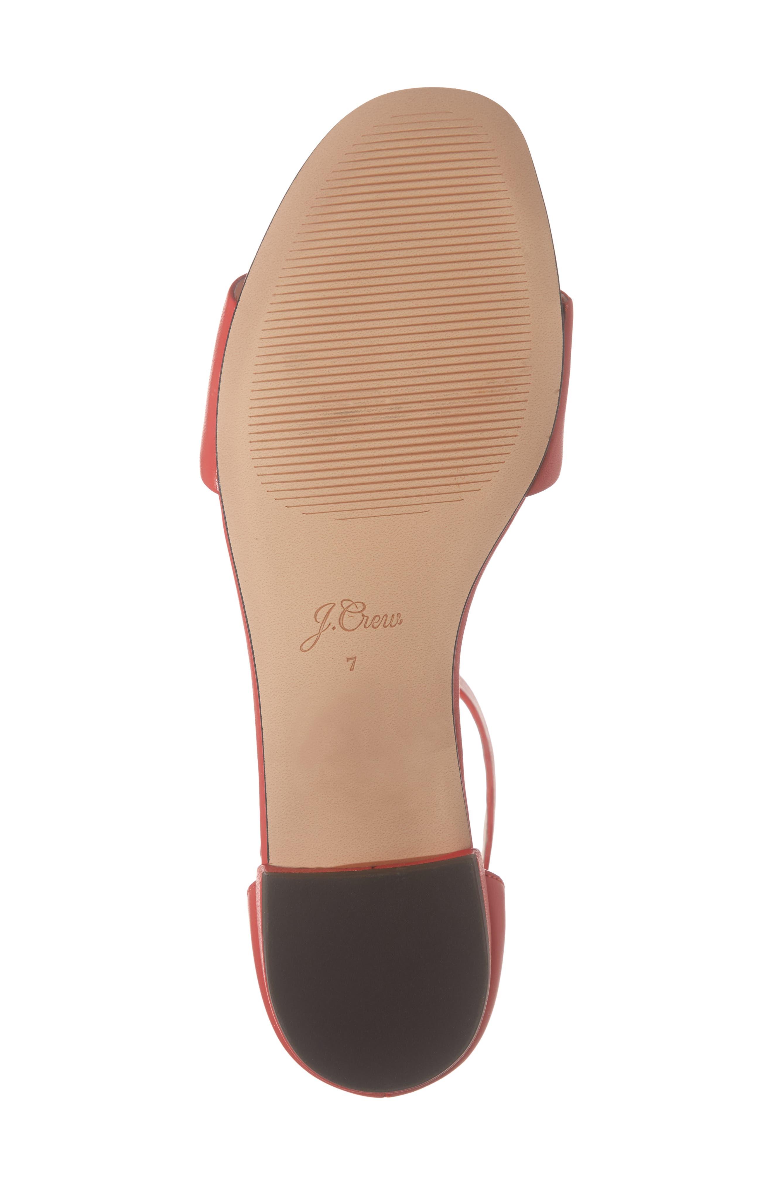 ,                             Ankle Strap Flat Sandal,                             Alternate thumbnail 12, color,                             600