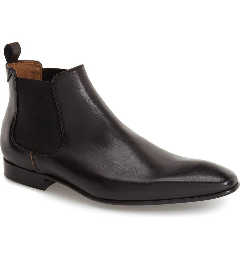 PAUL SMITH 'Falconer' Chelsea Boot, Main, color, 001
