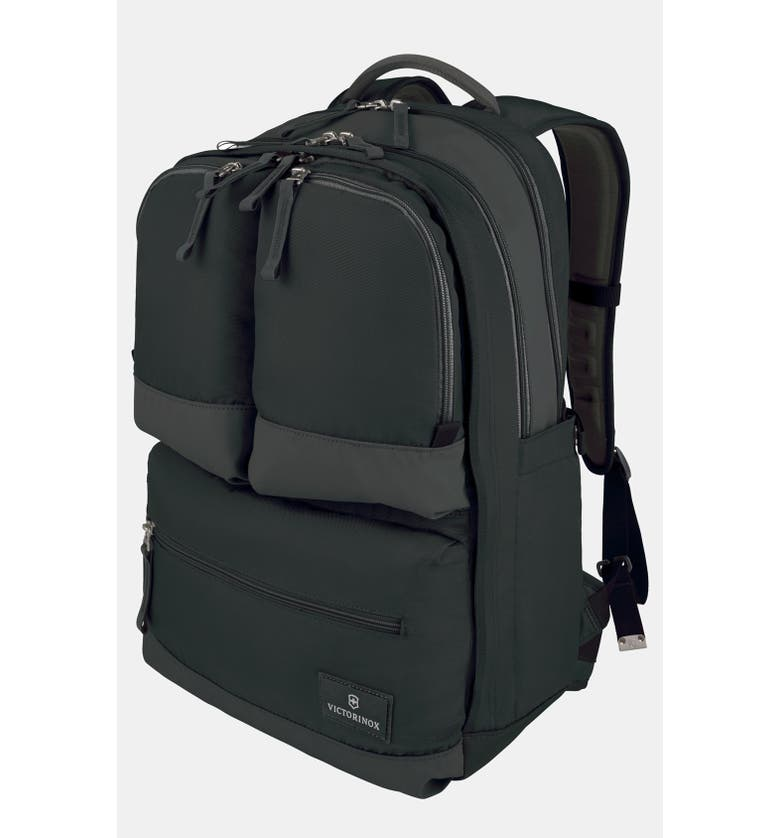 VICTORINOX SWISS ARMY<SUP>®</SUP> Dual Compartment Backpack, Main, color, 001