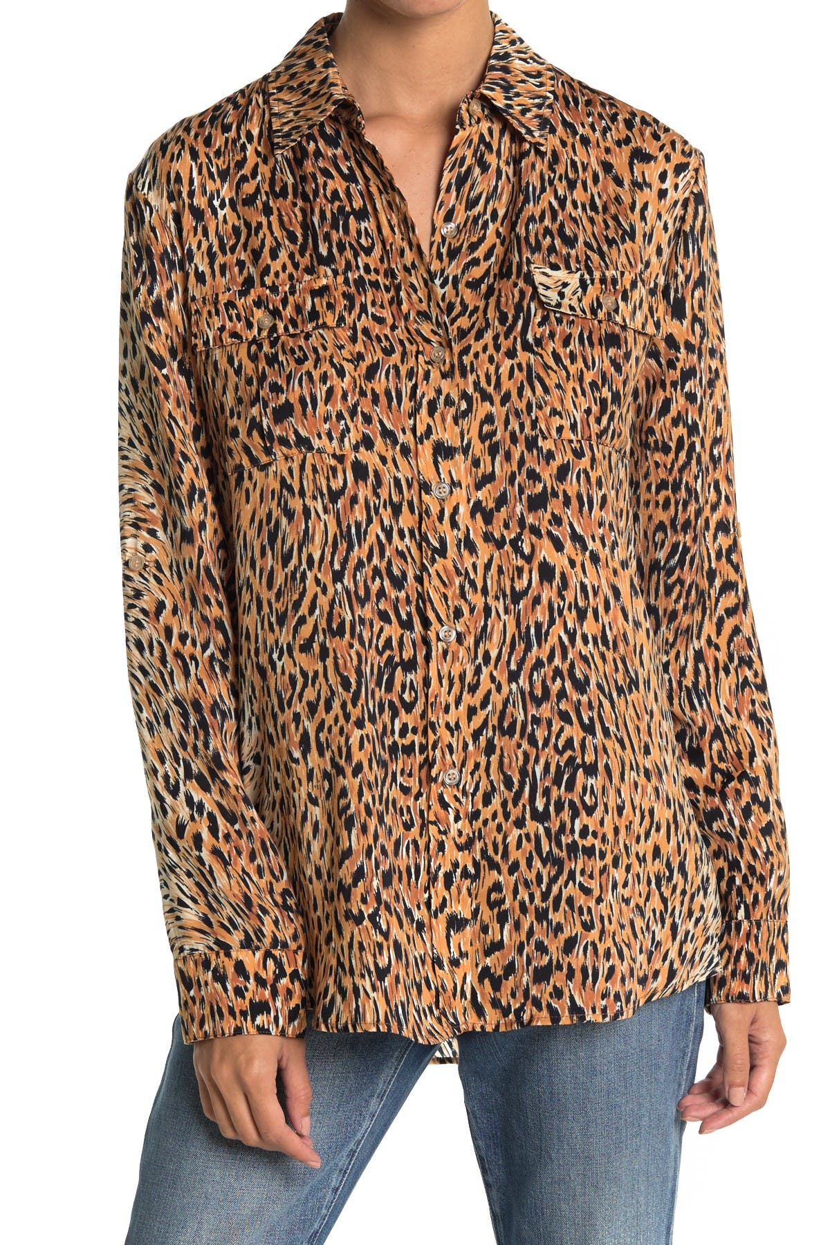 Image of LE SUPERBE Walking Safari Button Front Shirt