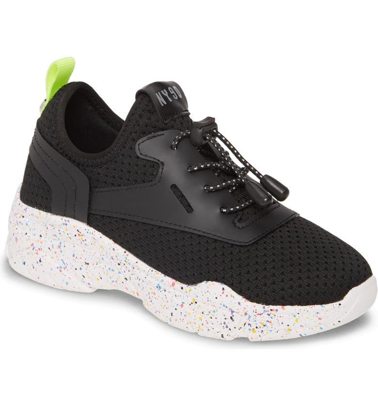 STEVE MADDEN JMyless Sneaker, Main, color, BLACK