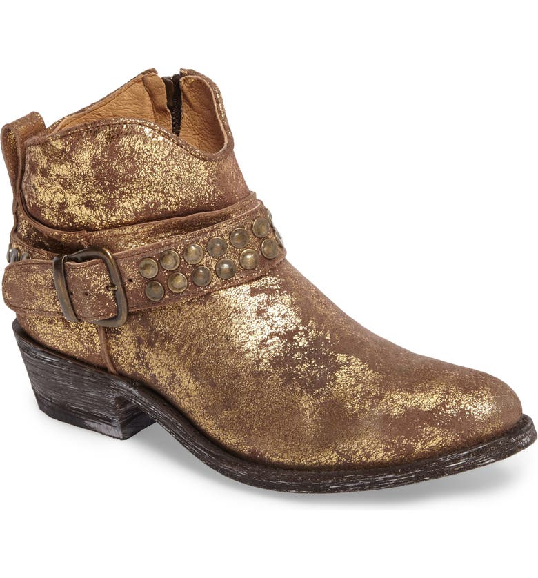 FIVE WORLDS Serene Western Boot, Main, color, COPPER LEATHER