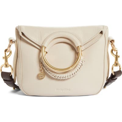 See By Chloe Monroe Leather Satchel - Ivory
